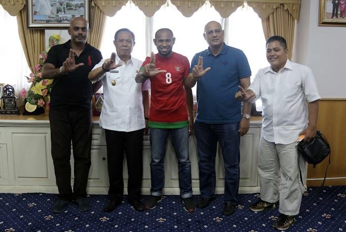 Wagub Bachtiar Basri Bantu SS Lampung Berlaga di Play Off Liga 3