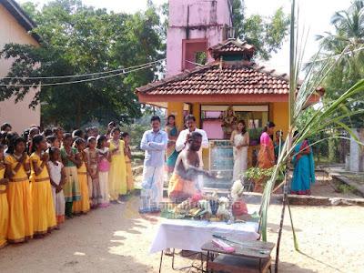 திகோ/ விநாயகபுரம் மகா வித்தியாலயத்தின் தைப்பொங்கல் விழா கொண்டாட்டம்