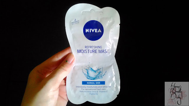 Review; Nivea's Refreshing Moisture Mask (Normal Skin)