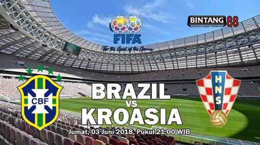 Prediksi Skor Brasil Vs Kroasia 3 Juni 2018