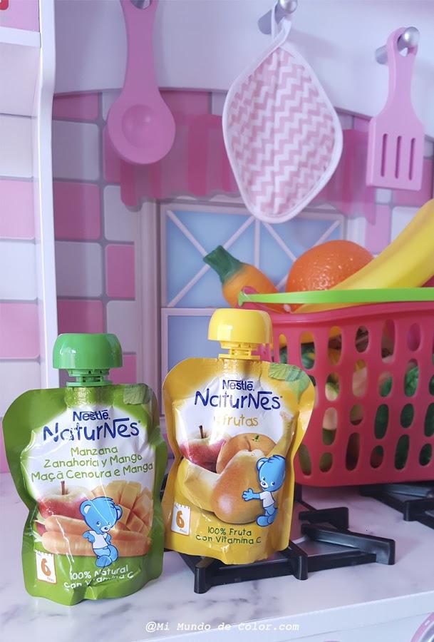fruta y verdura para niños