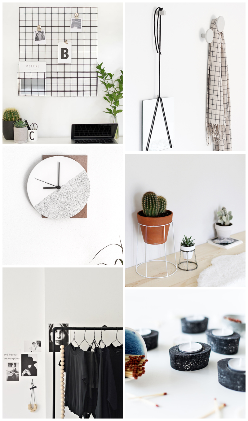 minimal DIY projects, modern home decor DIY