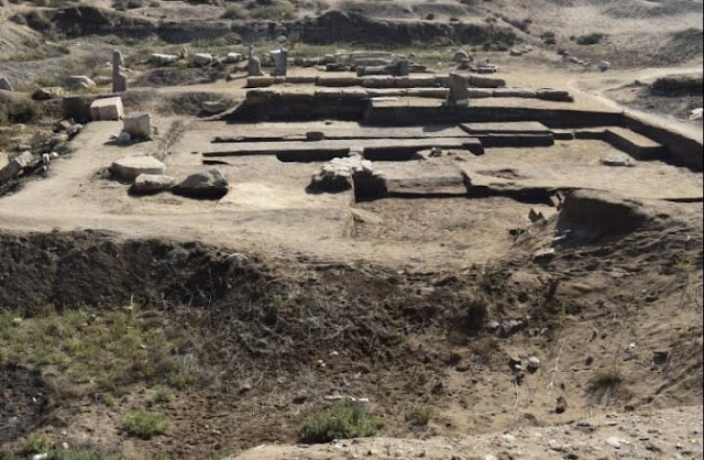 Remains of royal Egyptian artefacts uncovered in Tel Al-Pharaeen