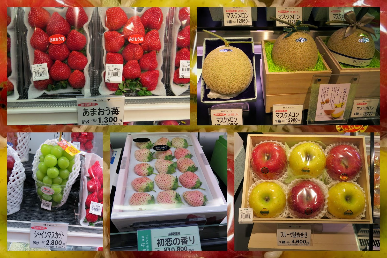 Gift Fruit in Japan
