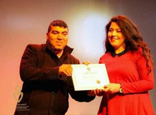 نيفين شلبي  تتألق في مهرجان مدنين في تونس