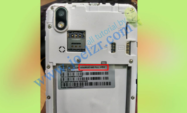 firmware advan S5E Full View Model 5062