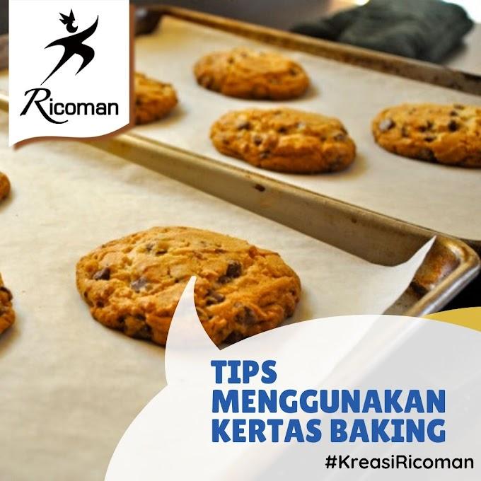Tips Menggunakan Kertas Baking