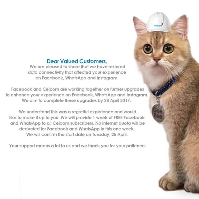 Pelanggan Celcom Bakal Menikmati Data PERCUMA Selama Seminggu Mulai 25 April Ini!
