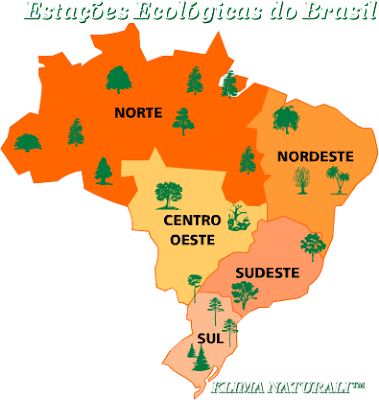 Lista de Estações Ecológicas do Brasil