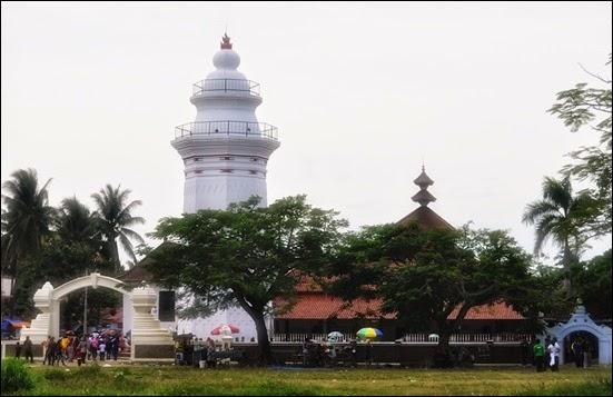objek wisata di serang Mesjid Agung Banten