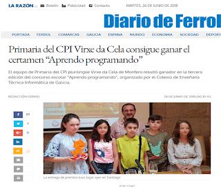 https://www.diariodeferrol.com/articulo/comarcas/primaria-cpi-virxe-da-cela-consigue-ganar-certamen-aprendo-programando/20180624001818229611.html