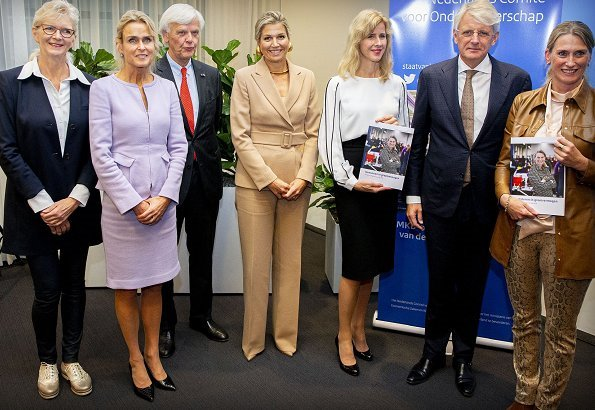 Queen Máxima is a member of the Committee