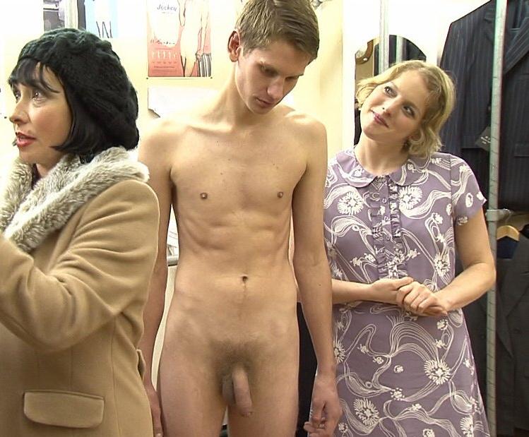 Naked Men Clothed Women