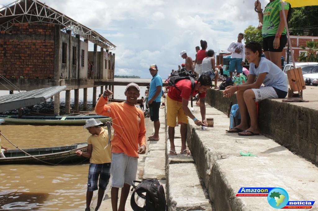 A manhã e tarde de domingo (01) foi bastante movimentada com 9° Torneio de Pesca em Óbidos