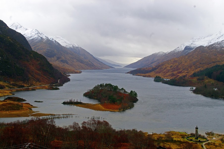 Scottish Highlands and Loch