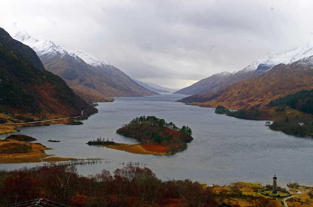 Scottish Highlands and Loch