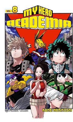 My Hero Academia vol.8