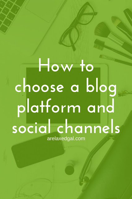 Choosing a blog platform and design | arelaxedgal.com