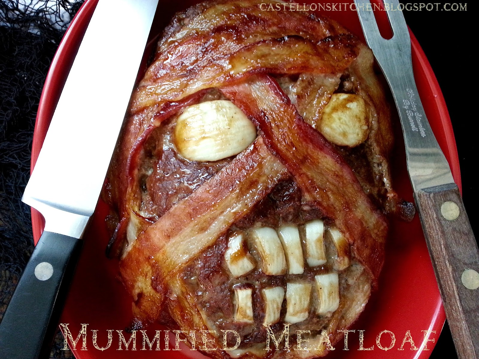 Mummy Meat Loaves