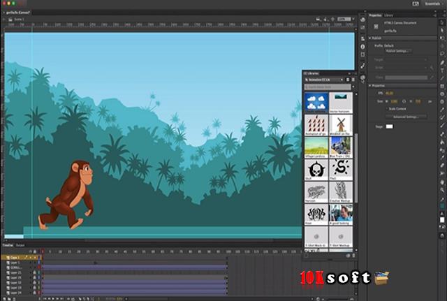 Adobe Animate CC 2017 offline setup file Free Download