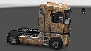 Rusty Skin pack for all trucks