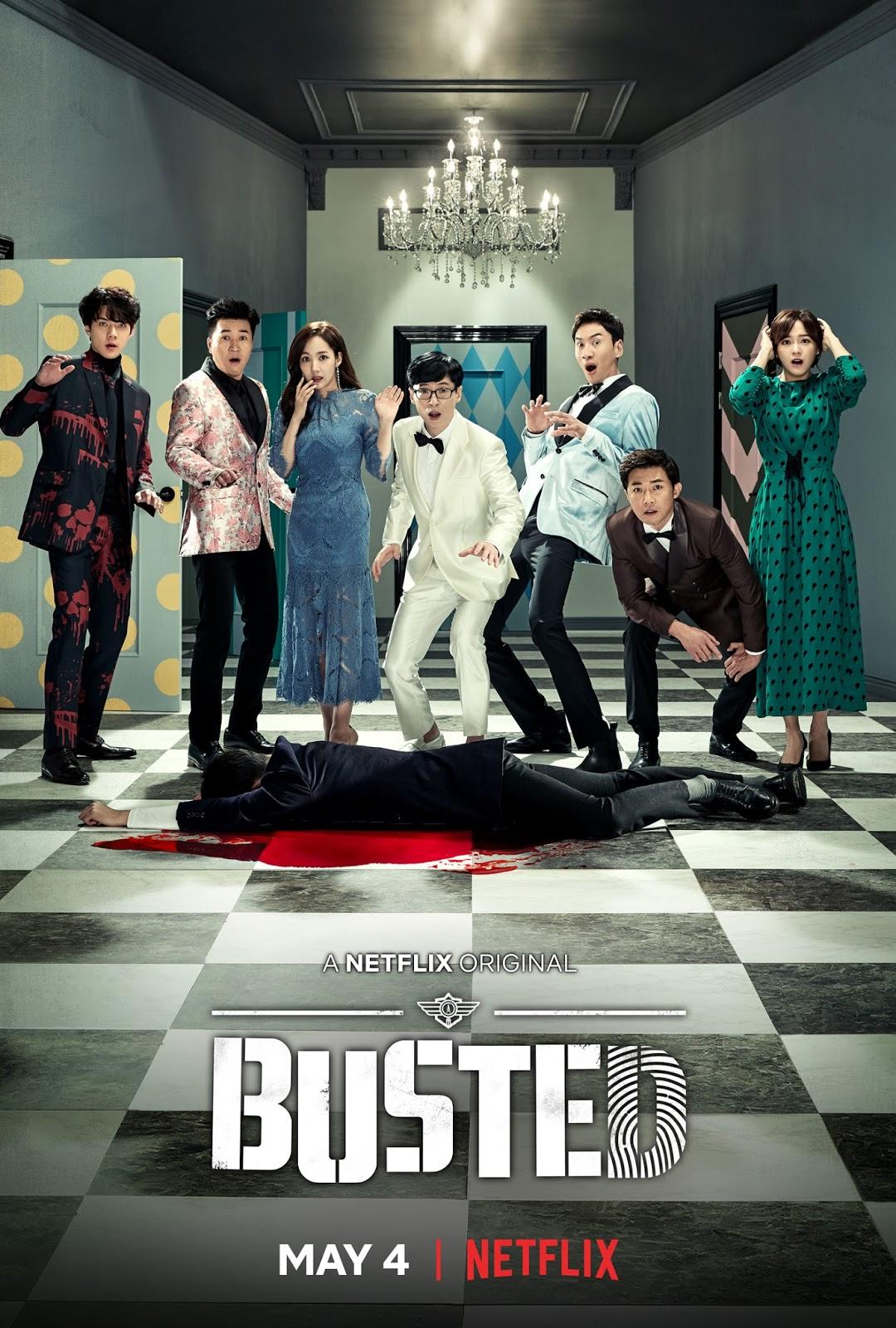 ภาพเหล่าพิธีกรหลักรายการแนวใหม่มาแรง Busted ออกอากาศทาง Netflix