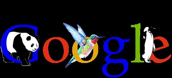 algoritma google panda penguin dan hummingbird
