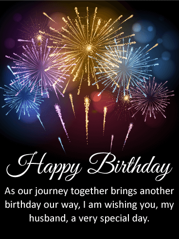 Send this Magnificent Happy Birthday Wishes Card for Husband