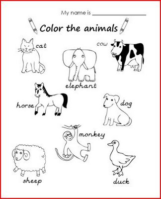 English for Everyone: Animals