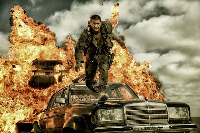 Tom Hardy dans Mad Max Fury Road, de George Miller (2015)