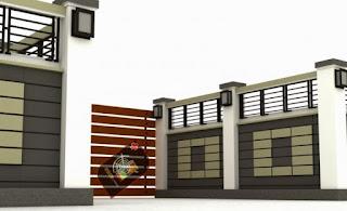 Gambar Pagar Rumah Minimalis 01