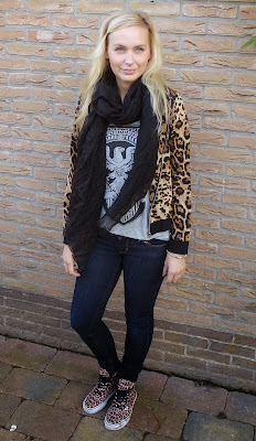 OUTFIT/ Leopard love.