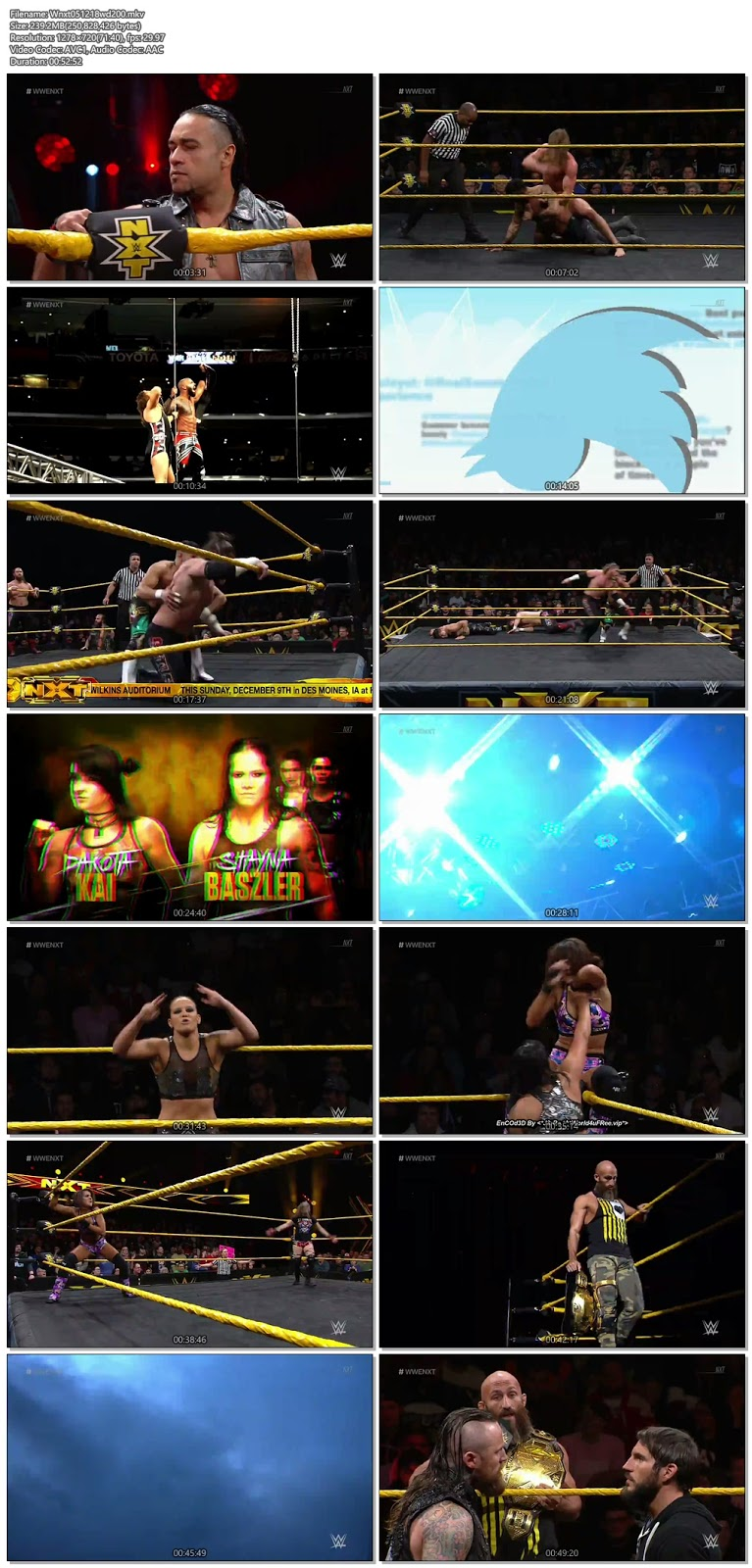 WWE NXT 05 December 2018 720p WEBRip 250MB x264 hollywood tv show wwe show WWE NXT 26 April 2017 200mb compressed small size free download or watch online at world4ufree.fun