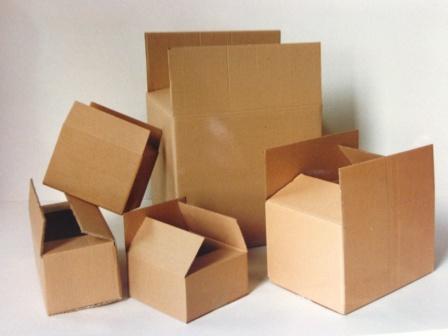 cajas de embalaje estandar.