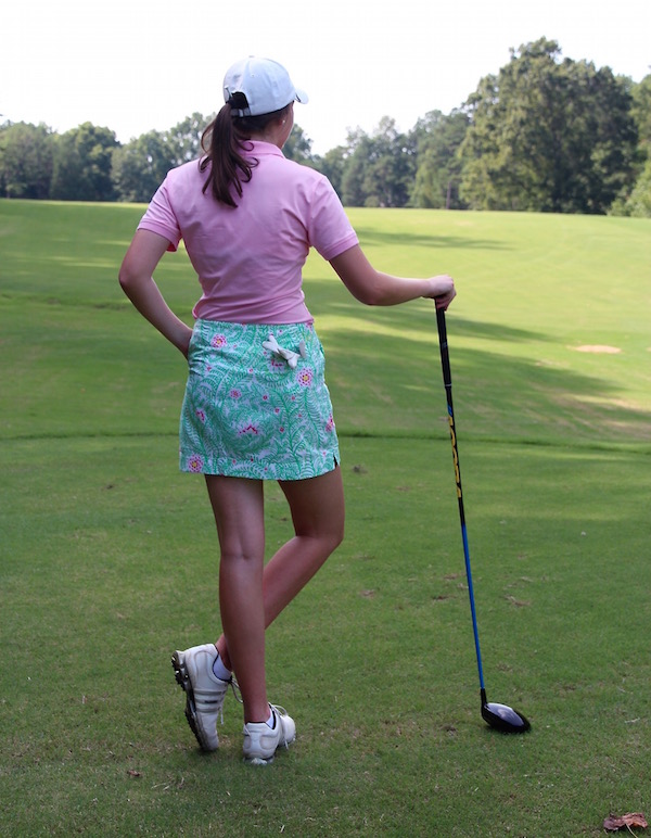 Gimme Glamour: Sydney Elizabeth cute women's golf clothes and skirts
