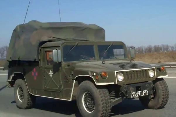 HMMWV M1097A2 3309 Р1