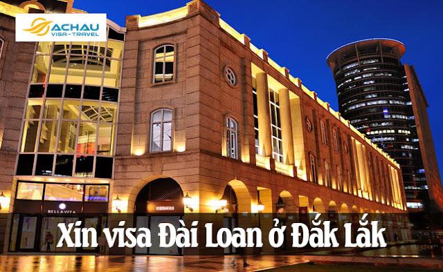 Xin visa Đài Loan ở Đắk Lắk