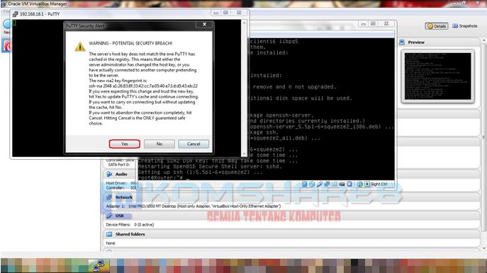 Pengertian dan Cara Install SSH pada Debian Server