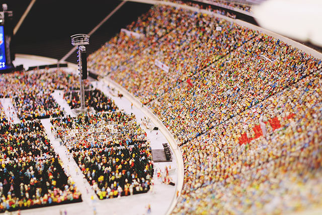 Miniature stadium