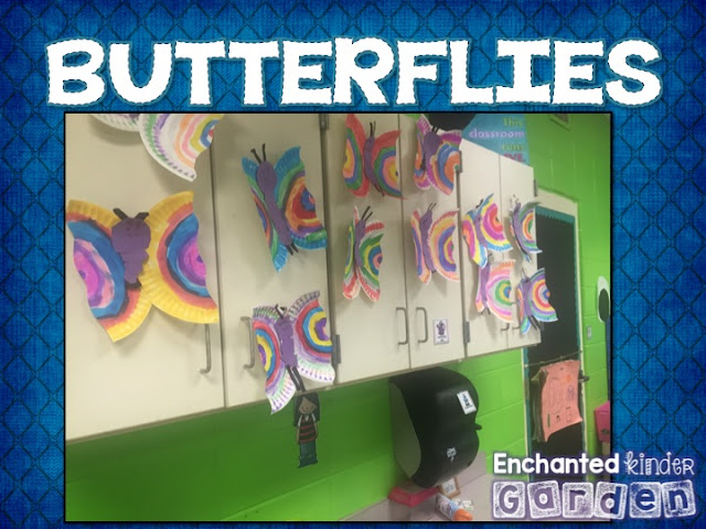 Butterfly craft for insect unit