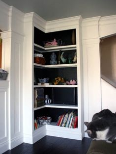 Creative%2BSmall%2BCorner%2BWall%2BCabinets%2B%252810%2529 35 Inventive Small Nook Wall Cupboards Interior