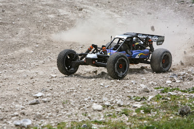 Hpi Baja 5B SS in use