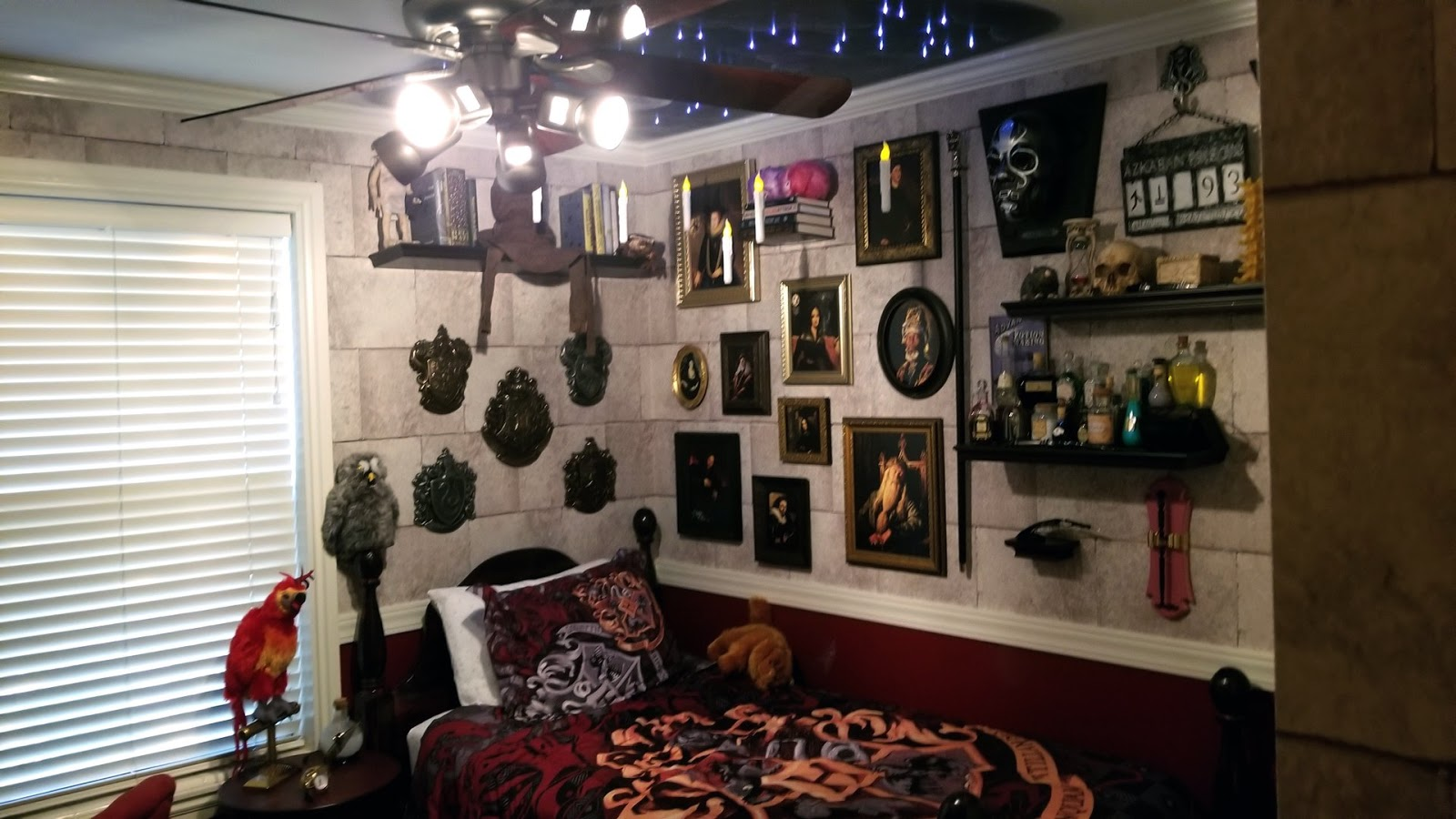 Epbot This Could Be The Harry Potter Room To End All Harry Potter Rooms So Let S Steal Their Ideas