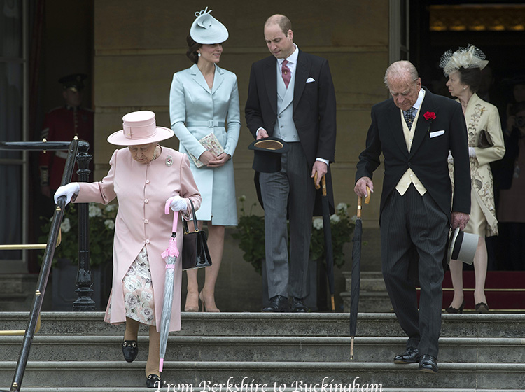 Kate In Christopher Kane At Buckingham Palace Garden Party