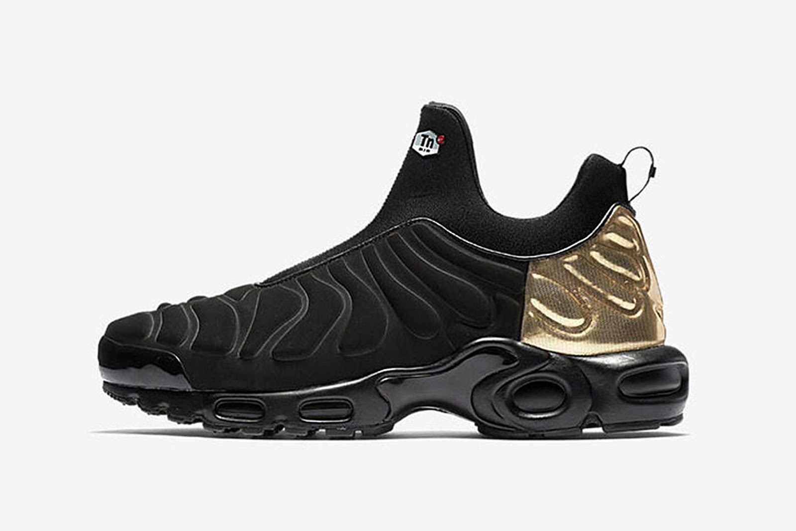 805586c133 The second colourway of the Nike Air Max Plus comes dressed in a Midnight  Navy, Metallic Silver and Light Ash Grey colour scheme. The laceless  silhouette is ...