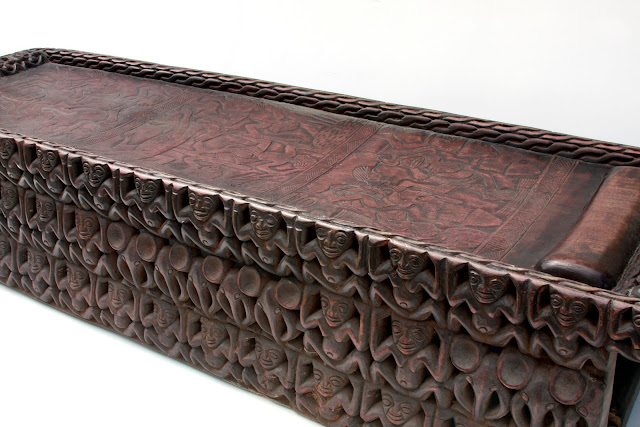 African Wood Carved Furniture 18