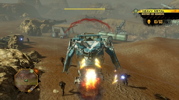 Red Faction Guerrilla PC Full Version Screenshot 1