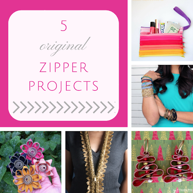 5 original zipper projects