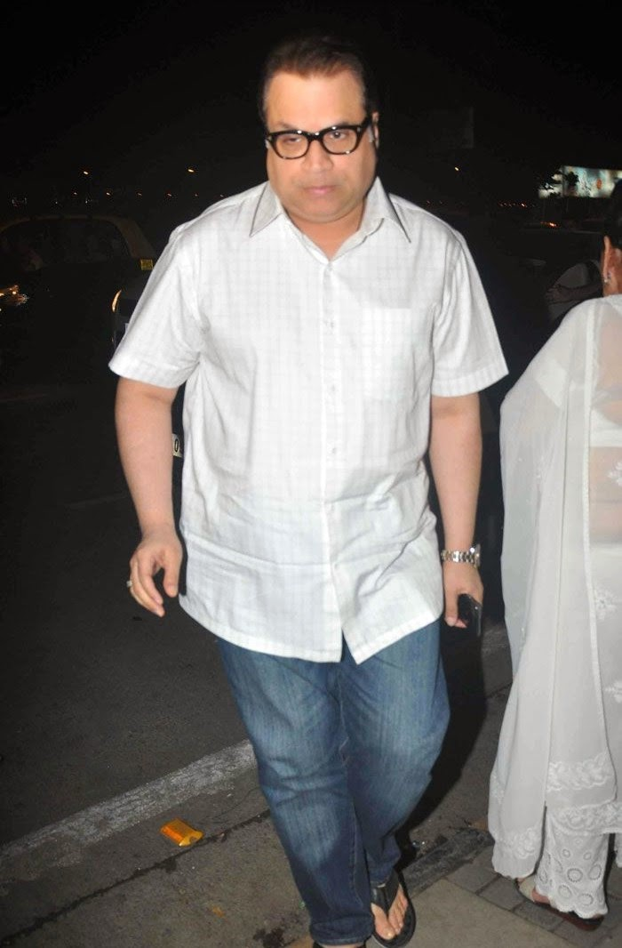 Ramesh S. Taurani, Pics from Condolence Meeting of Late Filmmaker Ravi Chopra