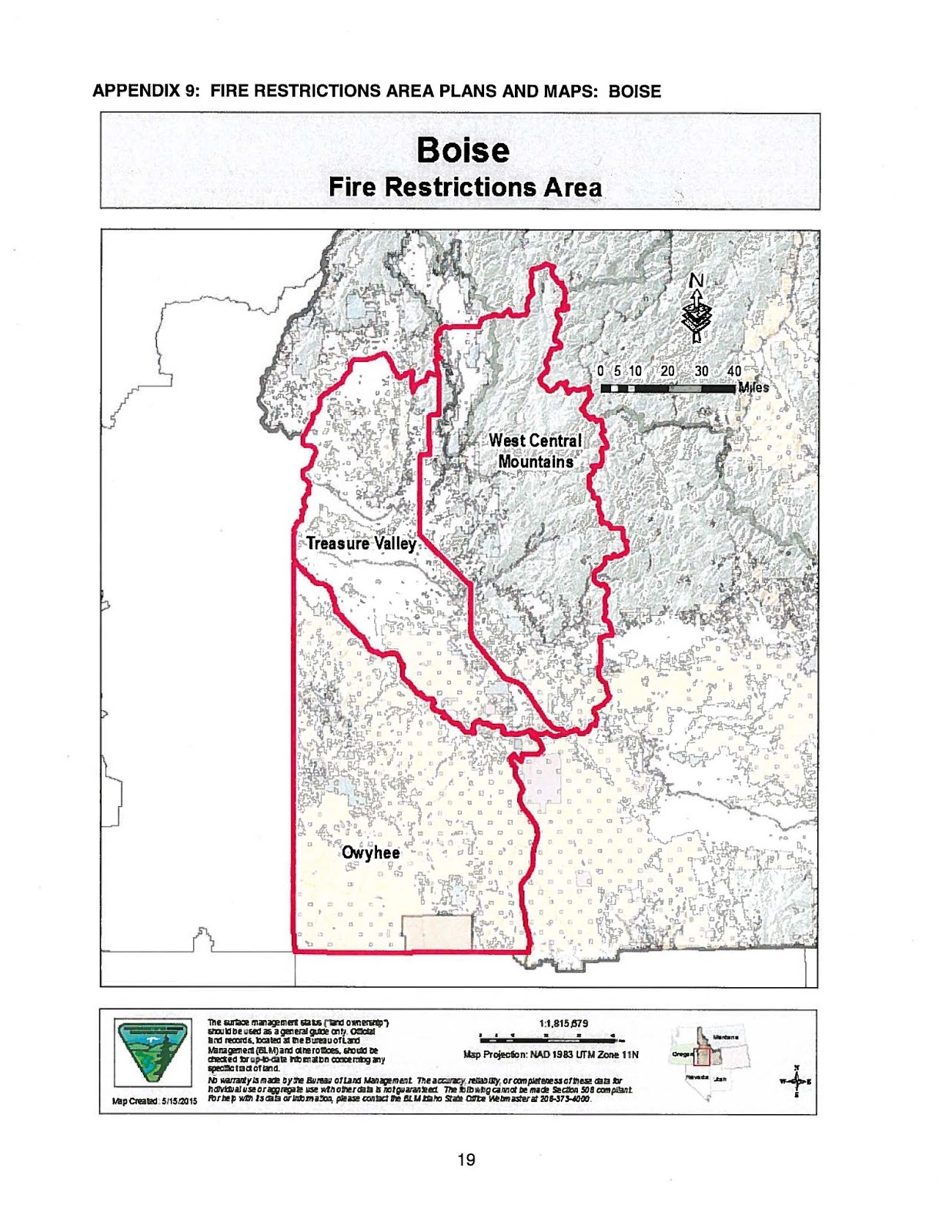 Idaho Fire Information: Fire Restrictions to be implemented